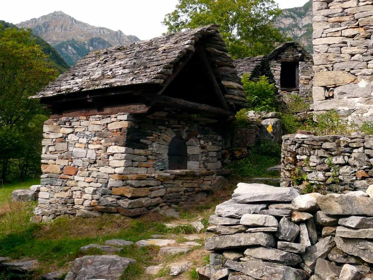arquitectura de piedra